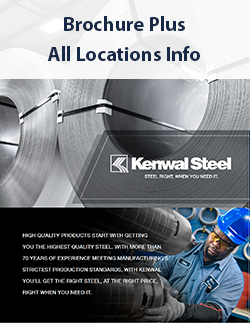 Kenwal Steel - Service Center Facilities